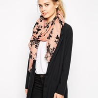 Oasis | Oasis Floral Acrylic Scarf at ASOS