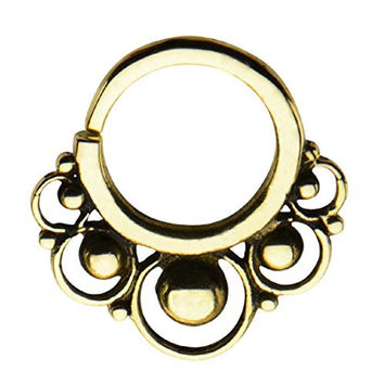 """14g 3/8"""" Nose septum unique body Jewelry for UNIQUE buyers--FREE Gift Box w 80"""