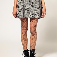ASOS Tattoo Tights at asos.com