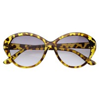 Mod  Womens Oversized Cat Eye Sunglasses