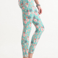 Bullhead Black Tropical Floral Ankle Skinniest Jeans at PacSun.com