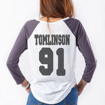 One Direction Long Sleeve Shirt Sweatshirt Louis Tomlinson T Shirt Hipster Tumblr Teen Tee Womens Teenager Gifts Merch Punk Pop Dope Swag