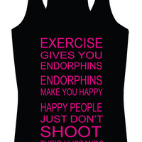 Happy People Racerback Tank Top