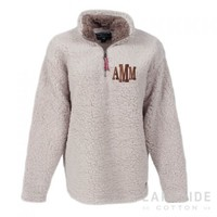 Monogrammed Appalachian Pile Pullover | Lakeside Cotton