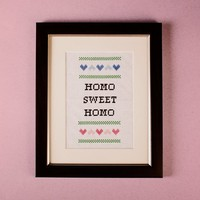 Subversive Cross Stitch Kits