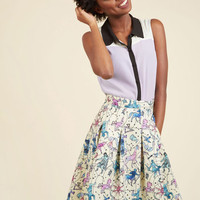 Ethereal Expression Pleated Skirt | Mod Retro Vintage Skirts | ModCloth.com