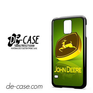 John Deere Logo Gold Green For Samsung Galaxy S5 Case Phone Case Gift Present