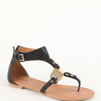 Qupid Blink Buckle Sandals at PacSun.com