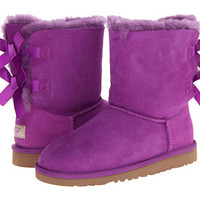 UGG Kids Bailey Bow (Big Kid) Electric Violet - Zappos.com Free Shipping BOTH Ways