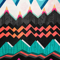 Candyland - Licorice dream Art Print by Elisabeth Fredriksson