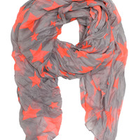 Your A Star Scarf - Gray