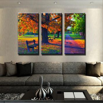 Fall Time Canvas Set