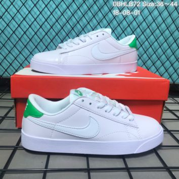 HCXX N160 Nike Tennis Classic AC Leather Casual Skeat Shoes White Green