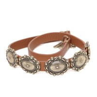 Anastasia Ashley Triple Wrap Leather Bracelet - Womens Jewelry - Brown - One