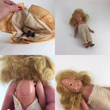Storybook Doll, Nancy Ann, Bisque Vintage Doll