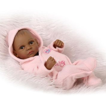 Soft Silicone Fashion Boneca Baby Reborn  Doll Toys For KIds