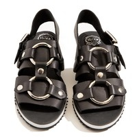 Jeffrey Campbell Trabuco Leather Sandals