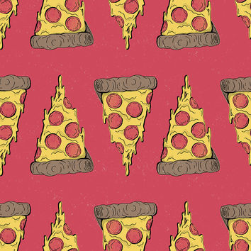 Pizza Party Removable Wallpaper