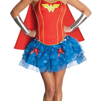 Wonder Woman Adult Flirty Xs Costume