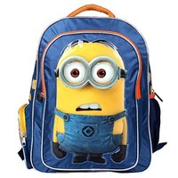 CrazyPomelo Despicable Me 2 Minions 3D Cartton Toddler Girls' Boys' Backpack School Bag