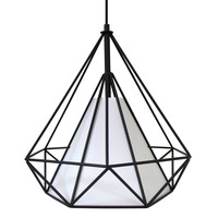 Hedron Pendant Lamp Black /White