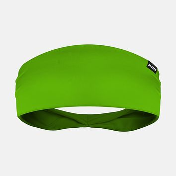 Hue Hot Green Headband