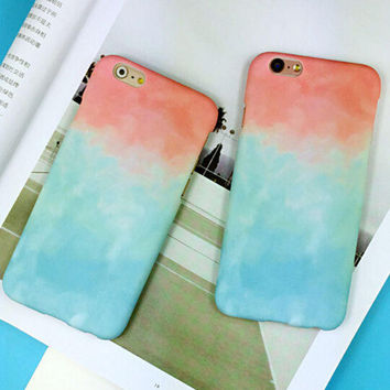 Trendy Tie-Dye mobile phone case for iphone 5 5s SE 6 6s 6 plus 6s plus Best Gift