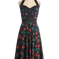 Frock 'n' Roll Dress in Sparrows