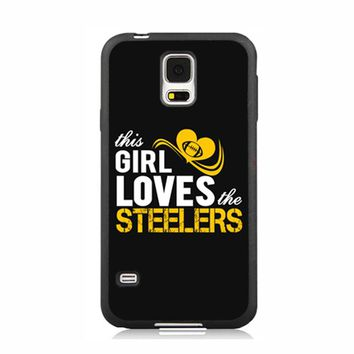 This Girl Loves Steelers TPU Case for iPhone 6 7plus 5s and Case for Samsung Galaxy Note2 3 Note4 5 S4 S5 S6 edge Plus S7 S7edge