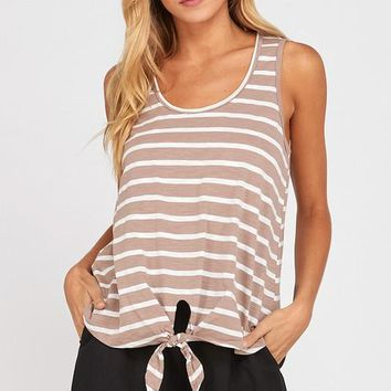 By the Beach Tank - Taupe