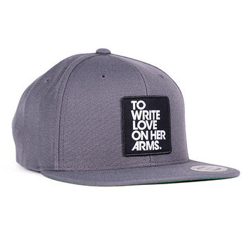 To Write Love on Her Arms Official Online Store - Patch Snapback Hat