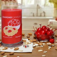 Cherry Almond Cookie Ring Candle