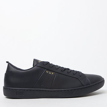 HUF Boyd Leather Navy Shoes at PacSun.com