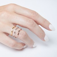 Pointed Ring Set