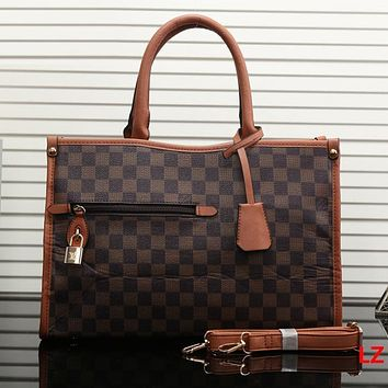 LV Louis Vuitton Women Fashion Leather Tote Crossbody Satchel Shoulder Bag Handbag
