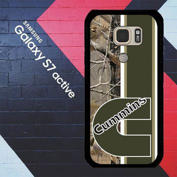 Cummins Logo X2638 Samsung Galaxy S7 Active Case