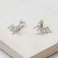 9 Spike Ear Jacket - Silver