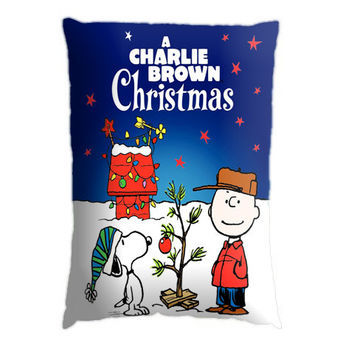 Charlie Brown Christmas Pillow Case Pillow Case. Choose the option for size