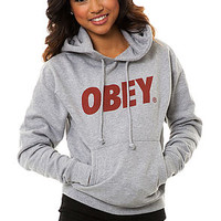 Obey The Obey Font Hoody in Gray : Karmaloop.com - Global Concrete Culture