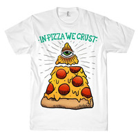 TRUST IN PIZZA TEE - PREORDER