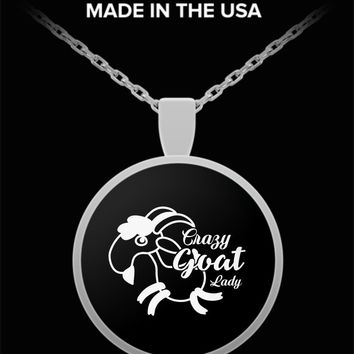 Crazy Goat Lady Necklace