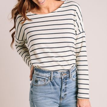 Tammy Striped Longsleeve Top