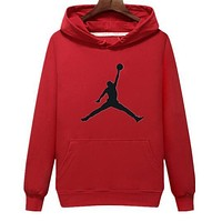 Nike Jordan Autumn Winter Popular Women Man Casual Print Long Sleeve Hoodie Sweater Top Sweatshirt I/A