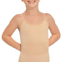 Eurotard Child Camisole Leotard with Clear and Matching Straps