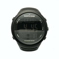 NORTHEDGE Men Sports Hiking Outdoors Digital Watch Fishing Altimeter Running Weather Thermometer