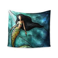 "Mandie Manzano ""Mermaid"" Wall Tapestry"