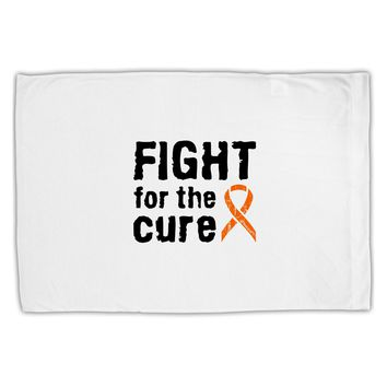 Fight for the Cure - Orange Ribbon Leukemia Standard Size Polyester Pillow Case