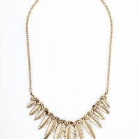 ModCloth Boho With Fronds Like These Necklace