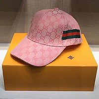 Gucci Embroidered Baseball Cap Hat