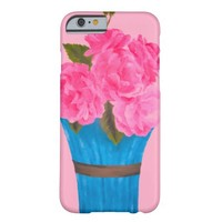 Painted Pink Roses-iPhone 6 Case